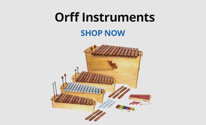 Shop Orff instruments.
