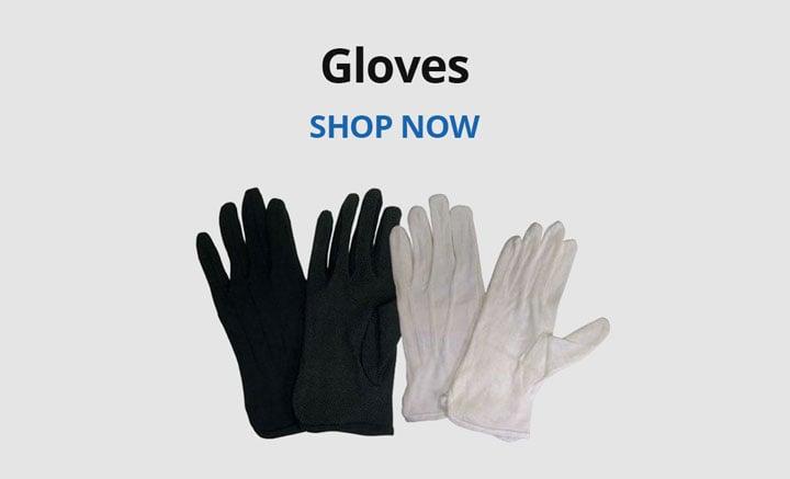 Shop handbell gloves.
