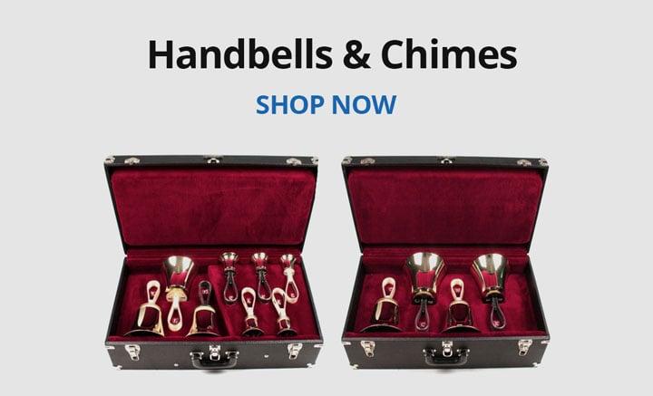 Shop handbells and chimes.
