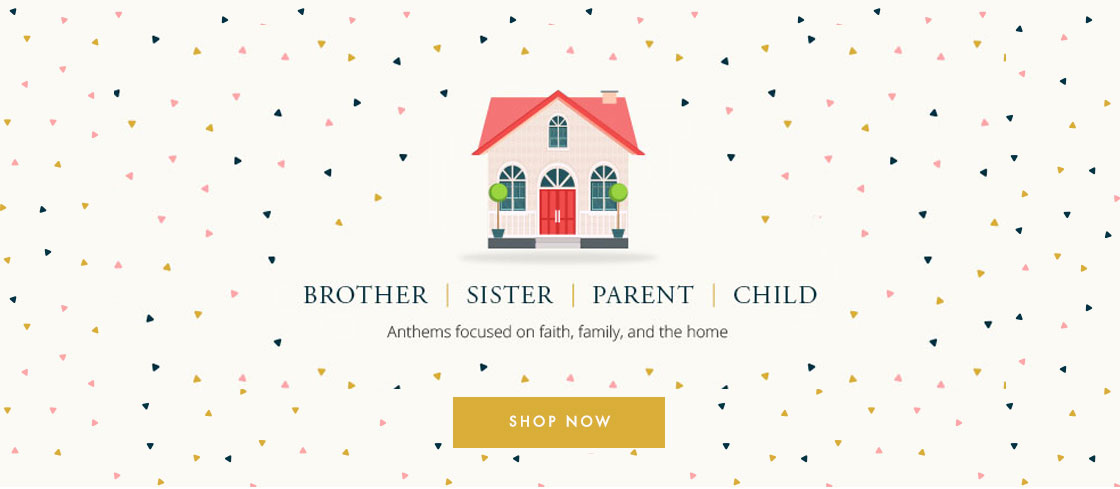Celebrate Family! Shop Mother's and Fathers Day music.