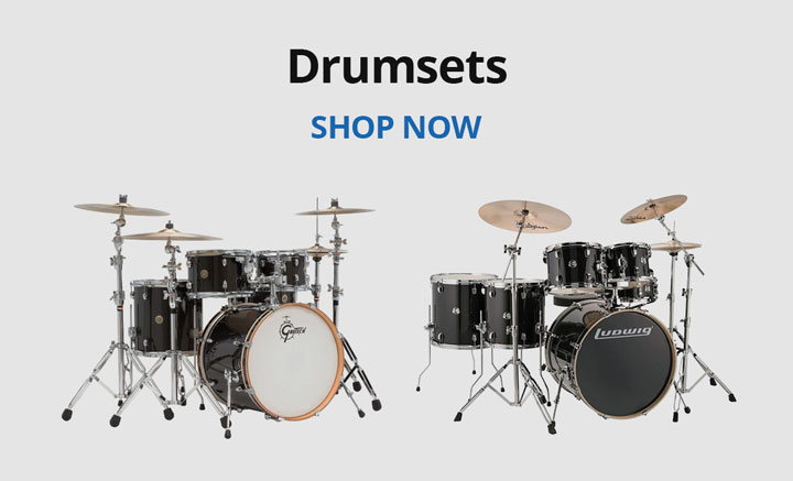 Shop drum sets.