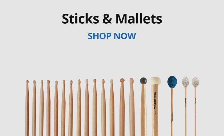 Shop sticks and mallets.