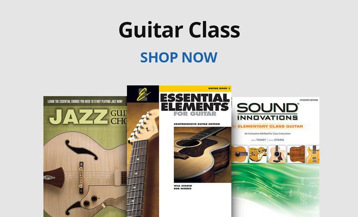 Shop guitar class resources.