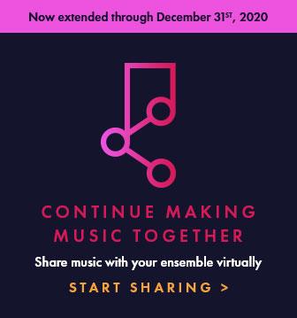 Share music.