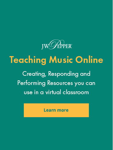 Explore resources for teaching music online in virtual or hybrid classrooms.