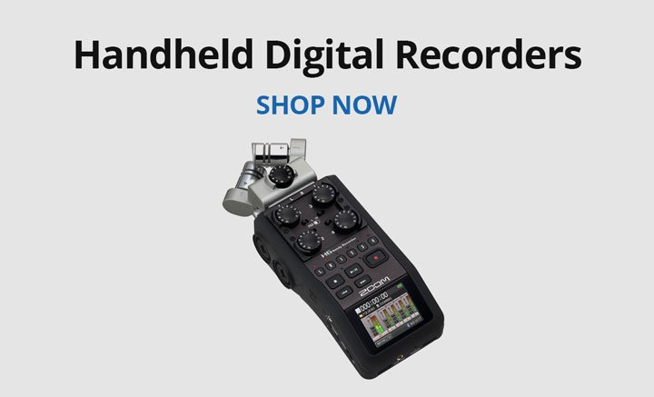Shop handheld digital recorders.