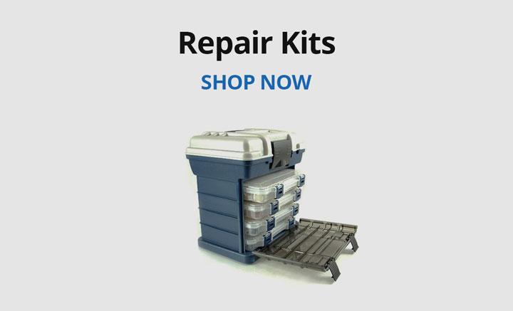 Shop repair kits.