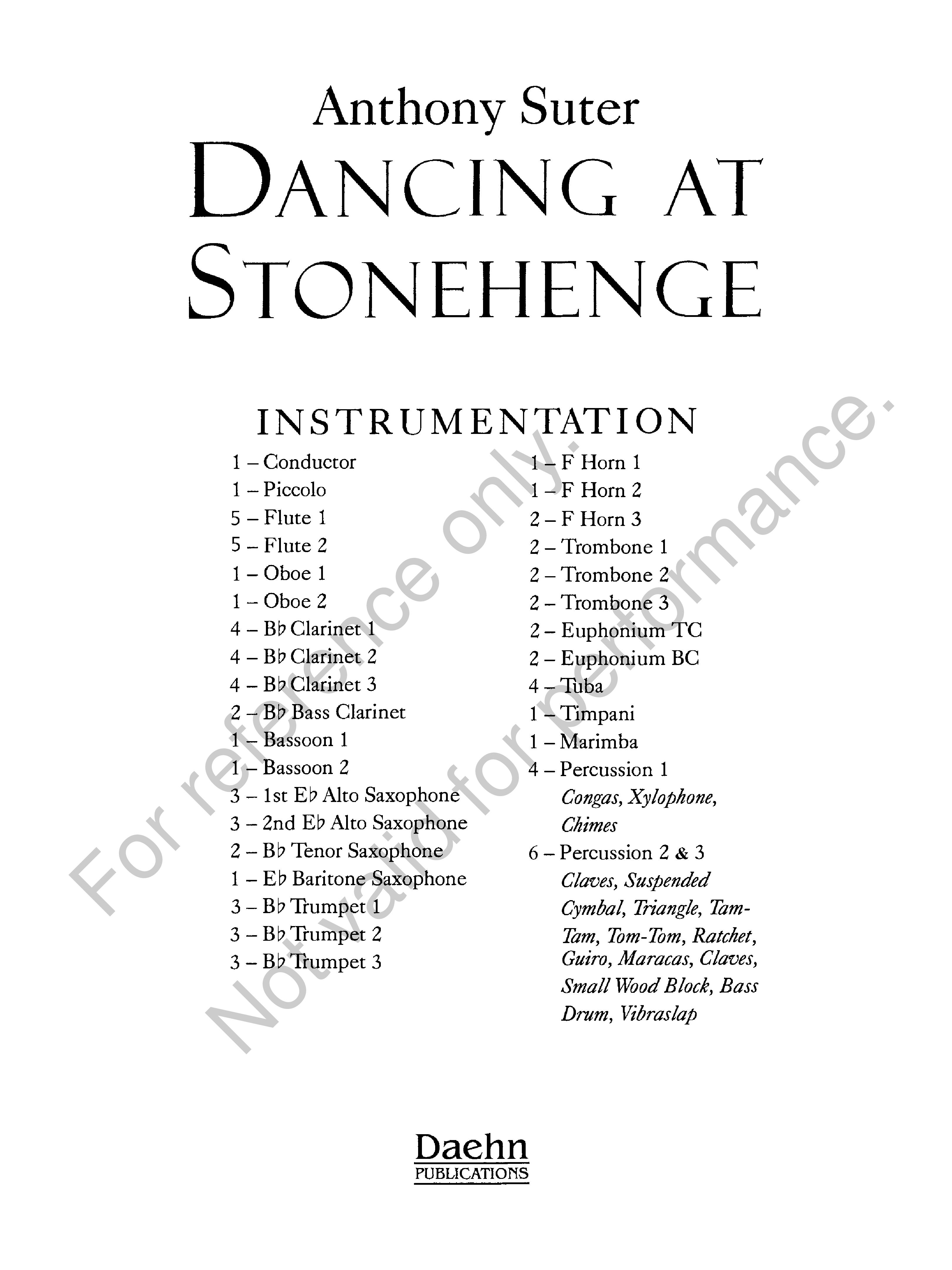 Dancing at Stonehenge Thumbnail
