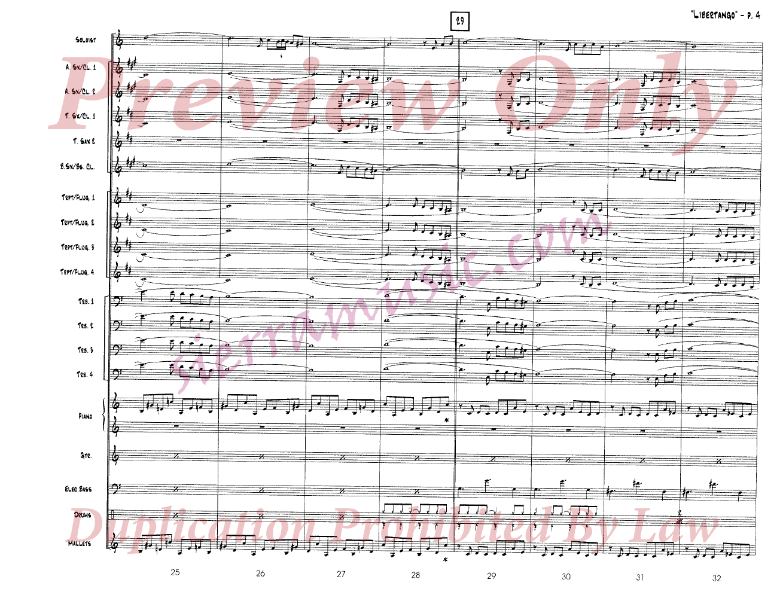 Libertango by Astor Piazzolla/arr  Fred Sturm| J W  Pepper