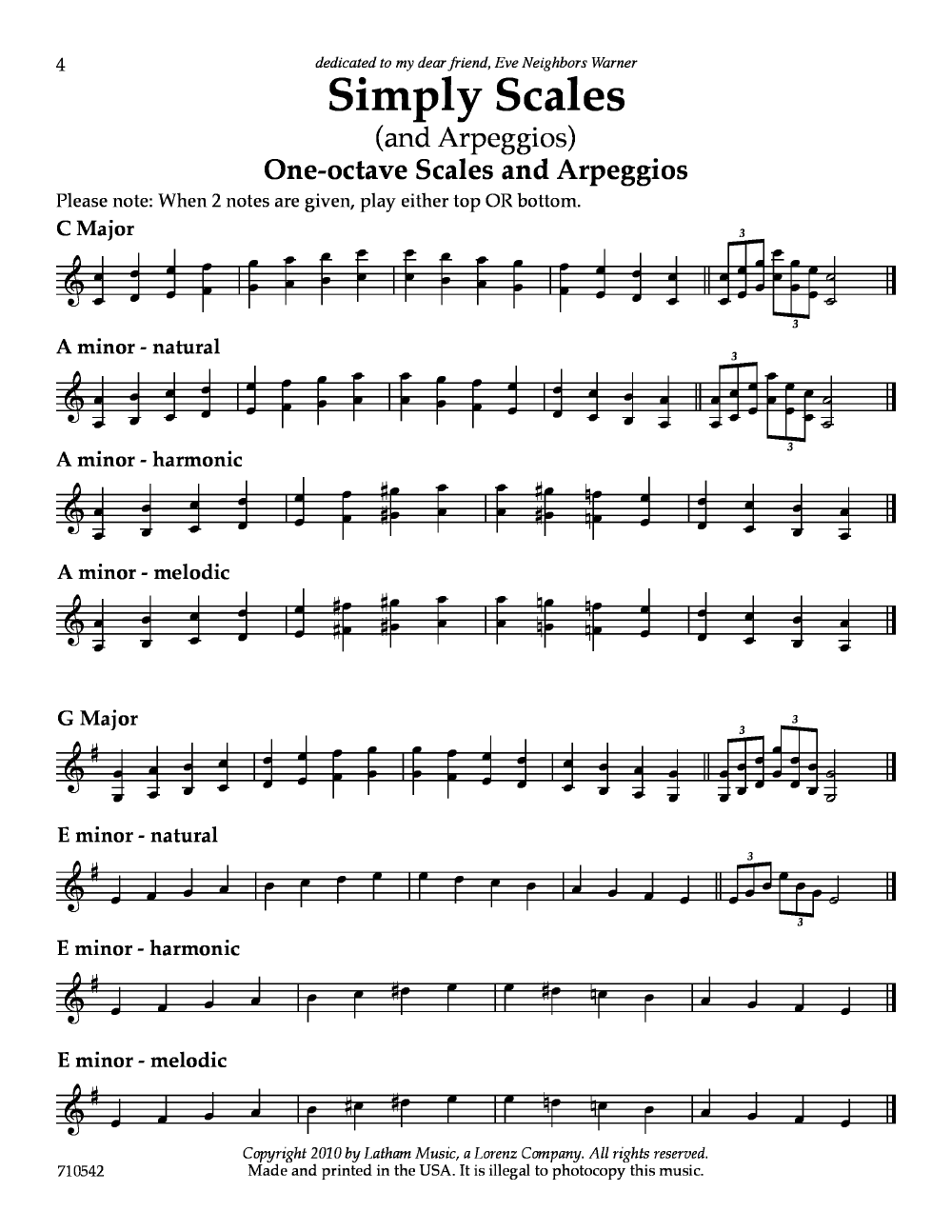 Simply Scales and Arpeggios Thumbnail