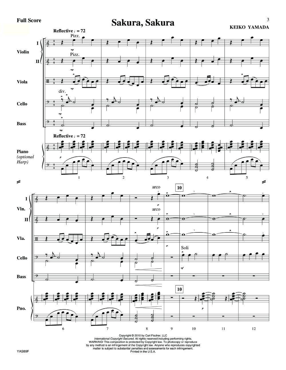 Sakura, Sakura by Larry Clark| J W  Pepper Sheet Music