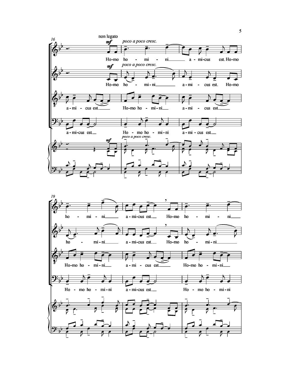 Vox Populi Ssatbb By Giedrius Svilainis J W Pepper Sheet Music