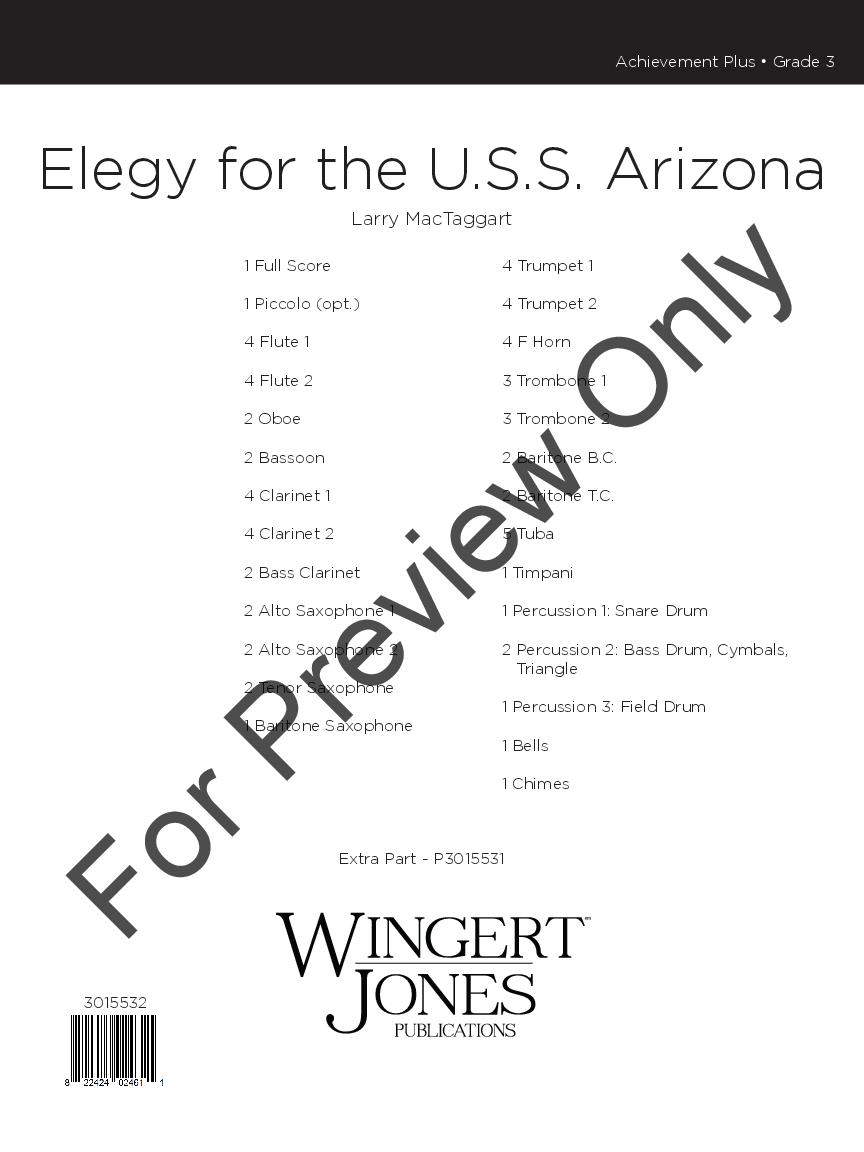 Elegy for the U.S.S. Arizona Thumbnail