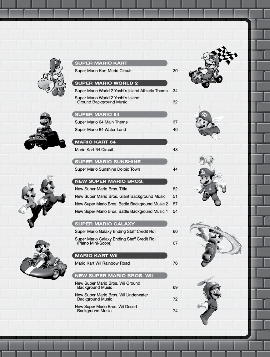 Super Mario Series (Moderate) by Koji Kondo, Shi | J W  Pepper Sheet
