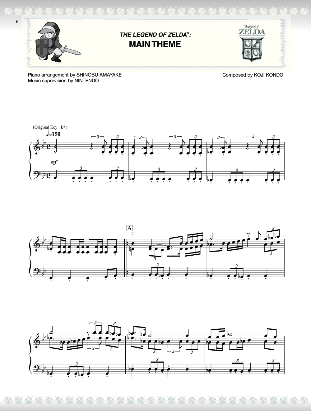 The Legend Of Zelda Series For Piano Piano By K J W Pepper Sheet Music