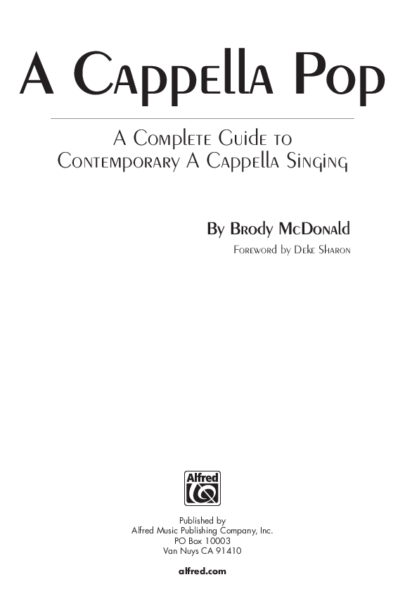 A Cappella Pop: A Complete Guide to Contemporary A Cappella Singing Thumbnail
