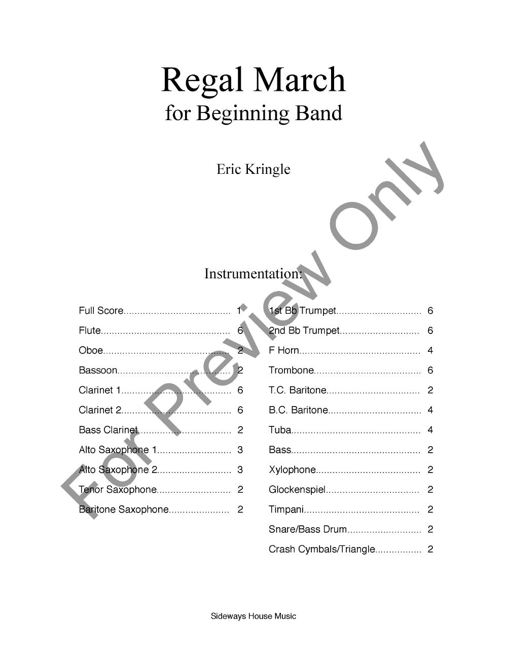 Regal March Thumbnail