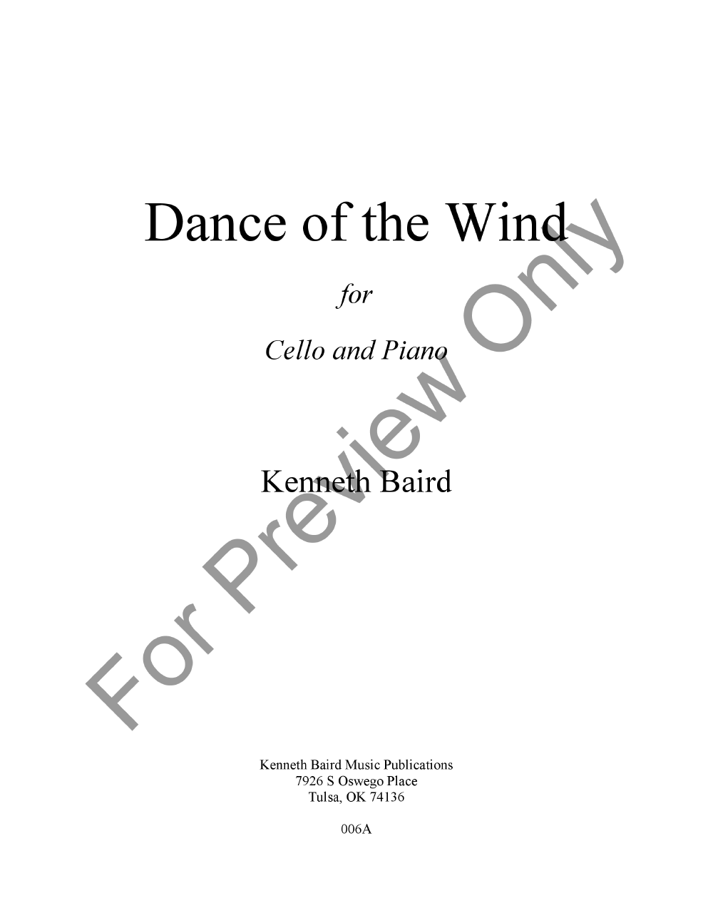 Dance of the Wind Thumbnail