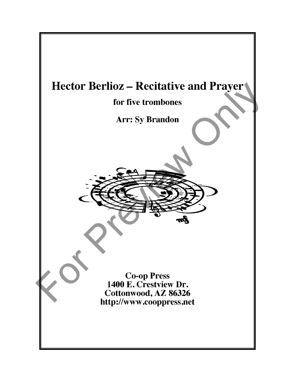 Recitative and Prayer Thumbnail