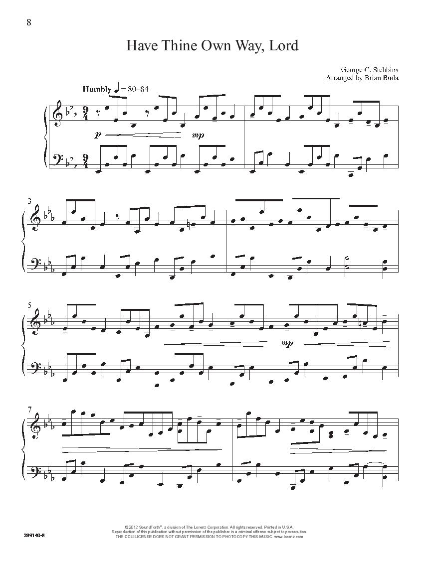 Call Me Home (Piano) by Brian Buda| J W  Pepper Sheet Music