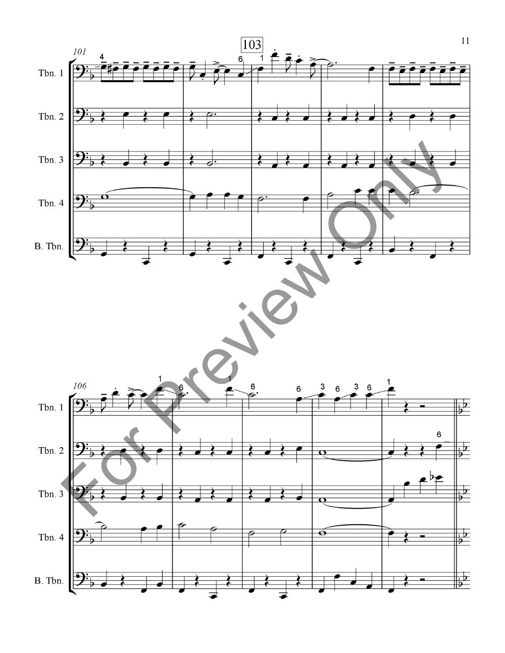 When the Saints Meet Lassus Trombone Thumbnail