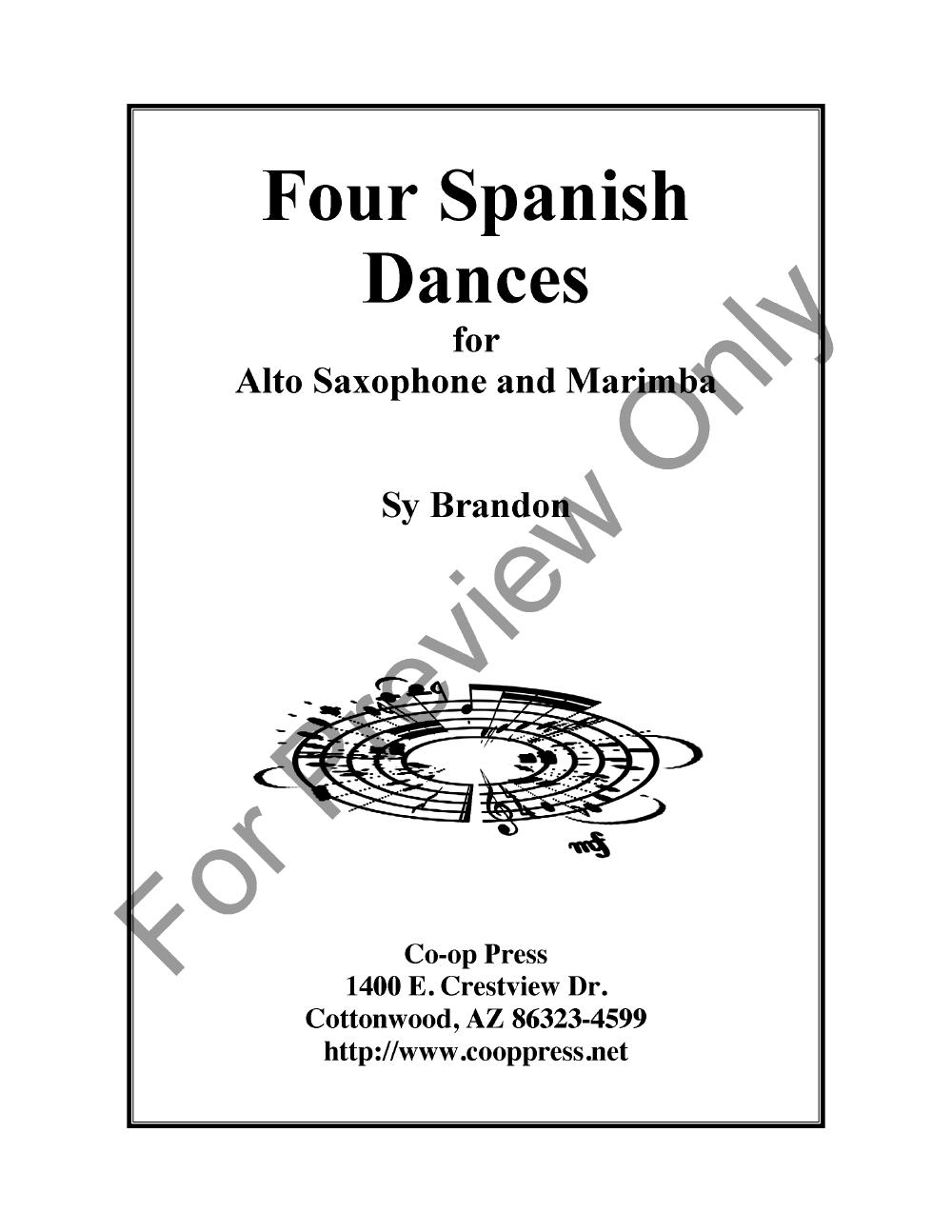 Four Spanish Dances Thumbnail