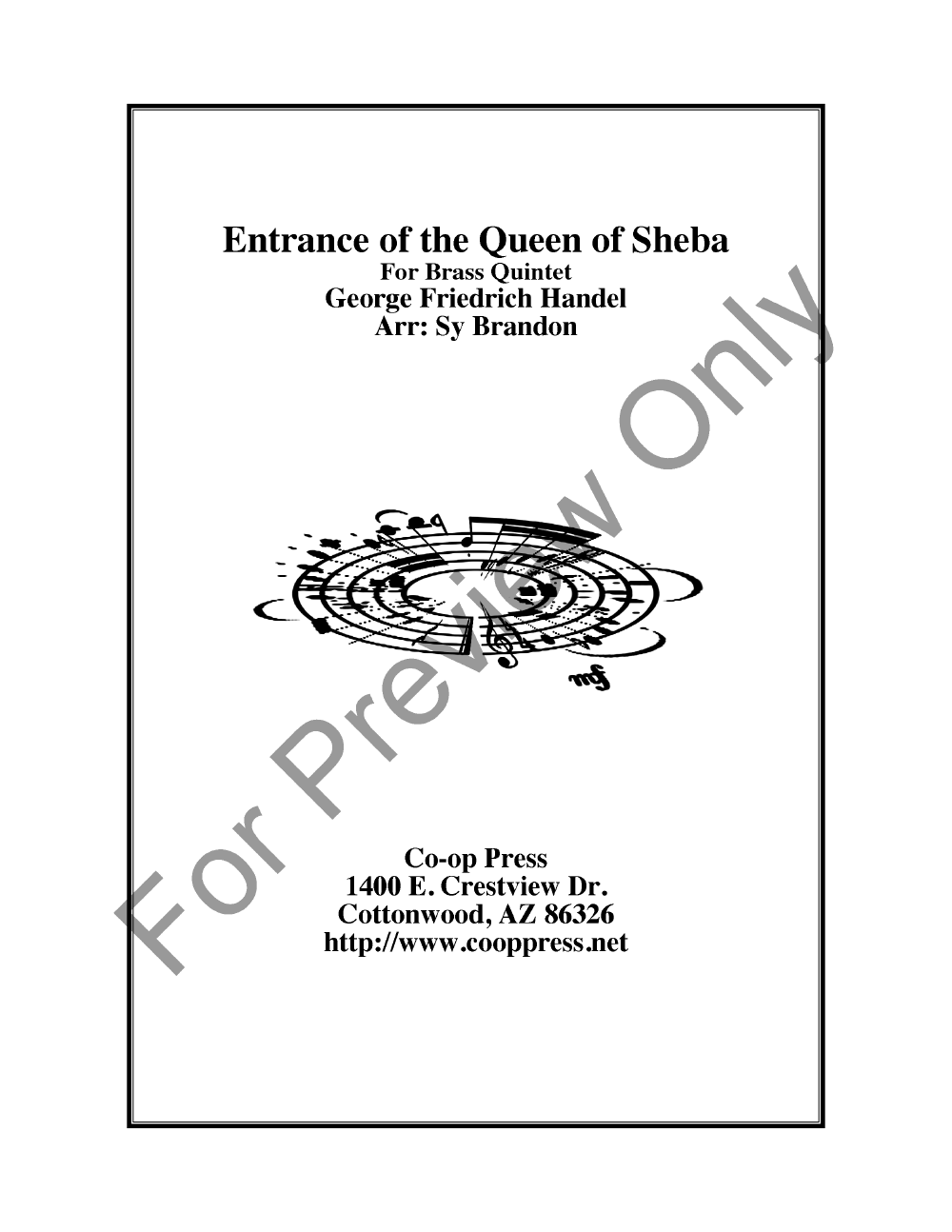 Entrance of the Queen of Sheba Thumbnail