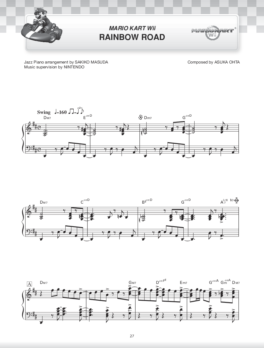 super mario bros 2 sheet music