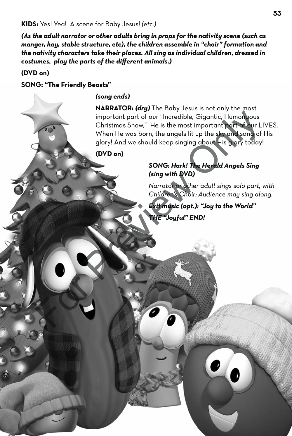 The Incredible, Gigantic, Humongous Veggietales Christmas Show Thumbnail