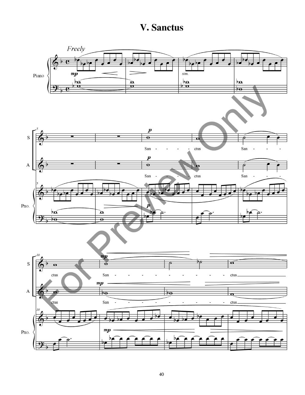 Mass No. 1 in C Major Thumbnail
