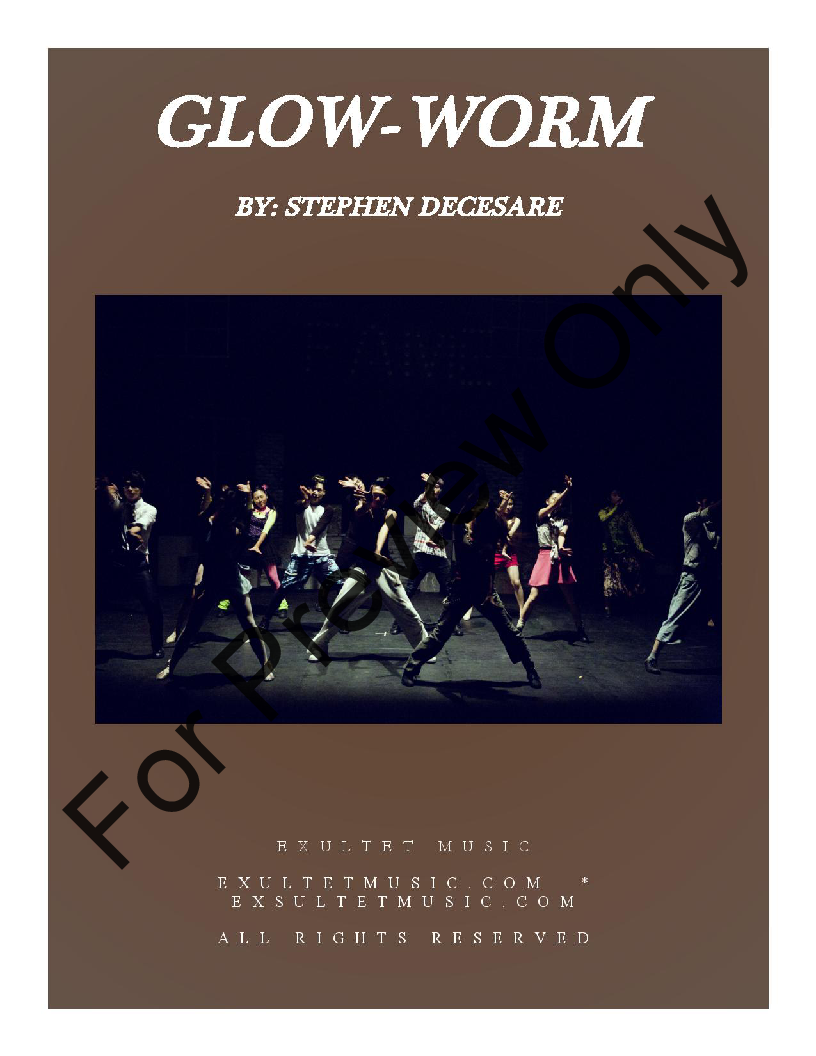 The Glow Worm (SATB ) by Paul Lincke / Ste | J W  Pepper