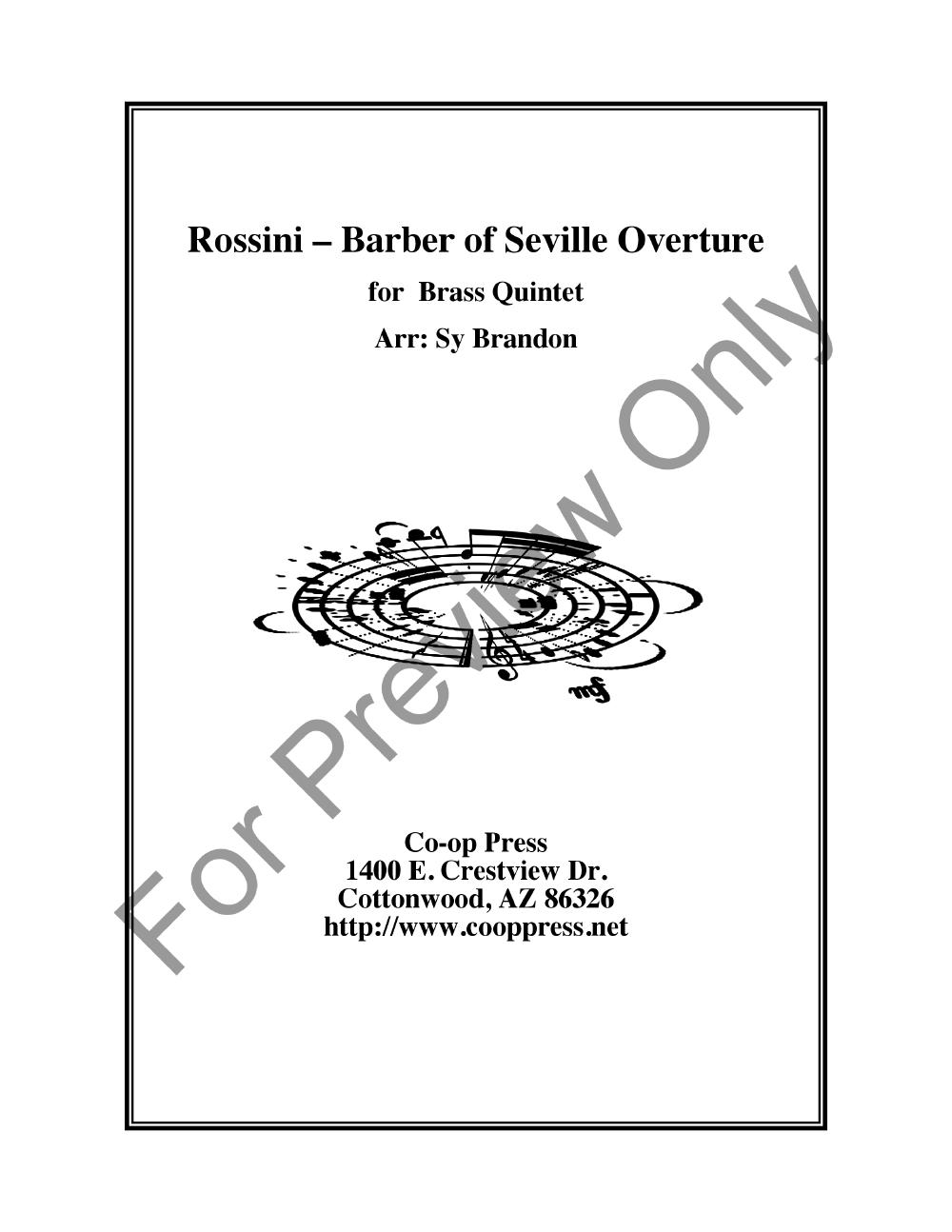 Barber of Seville Overture Thumbnail