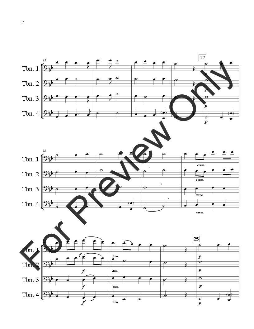 Alleluia from Christmas Oratorio Thumbnail