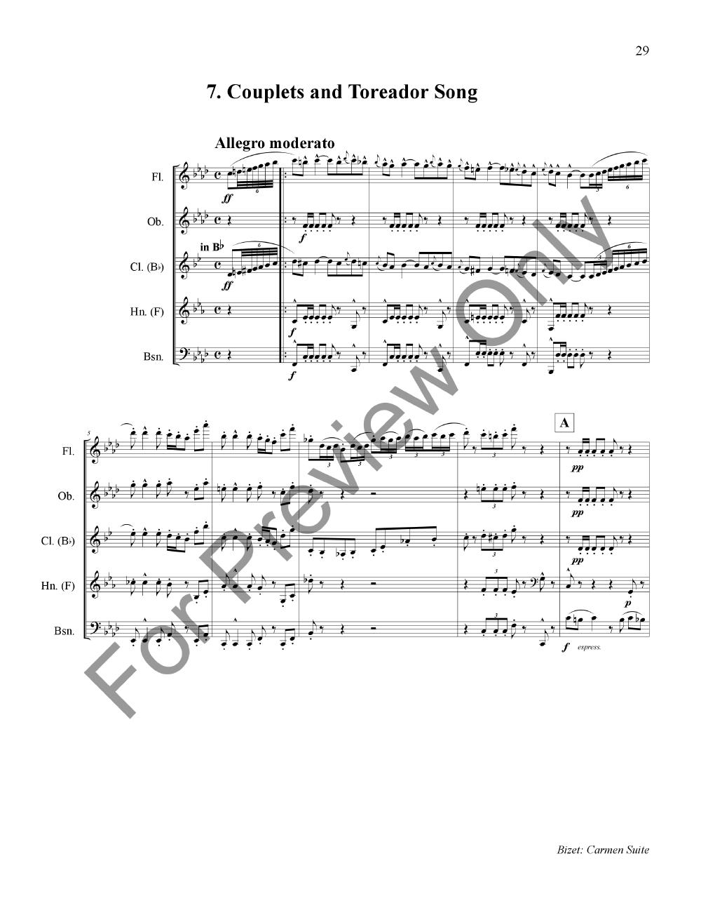 Carmen Suite Thumbnail
