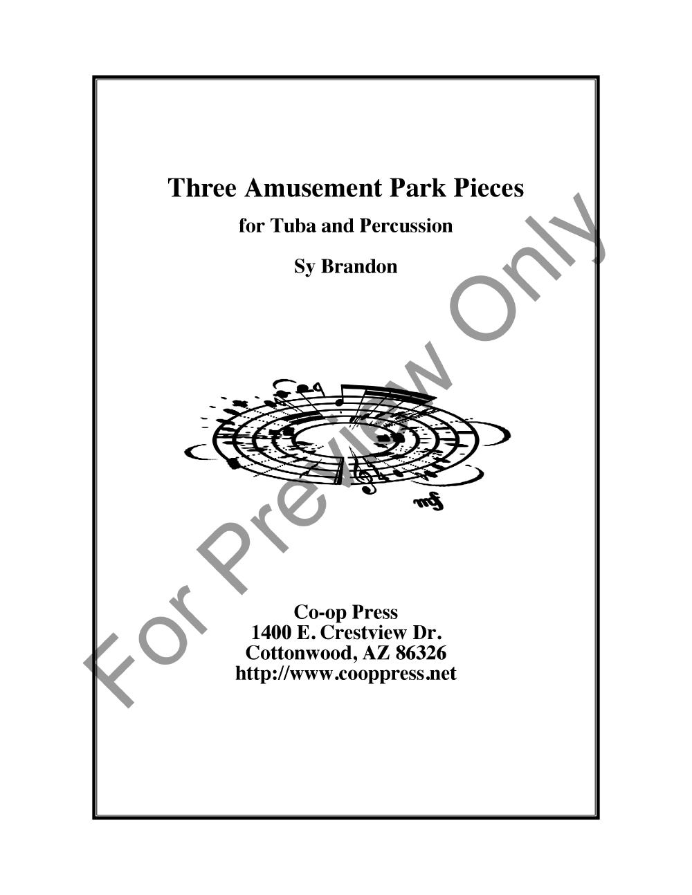 Three Amusement Park Pieces Thumbnail