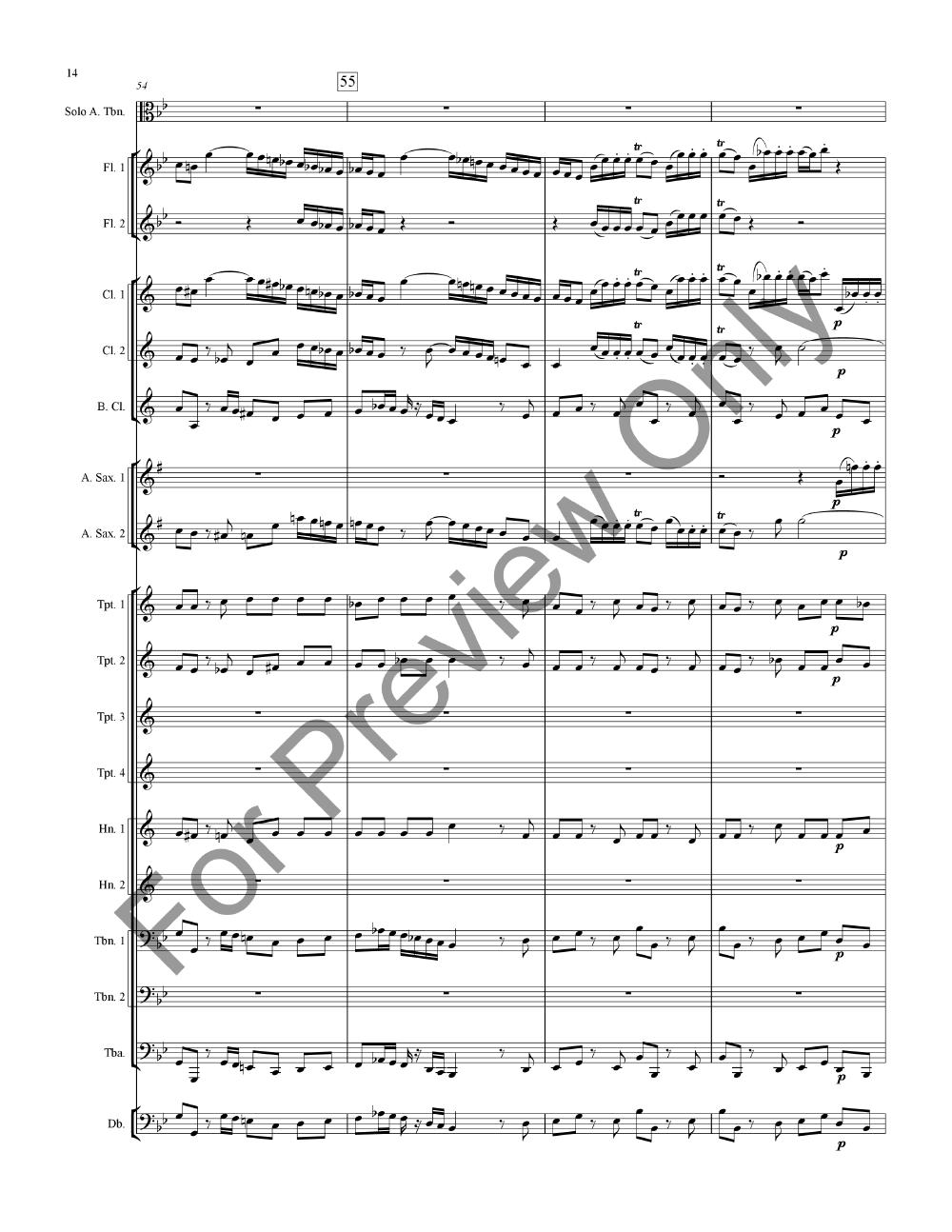 Concerto for Alto Trombone Thumbnail
