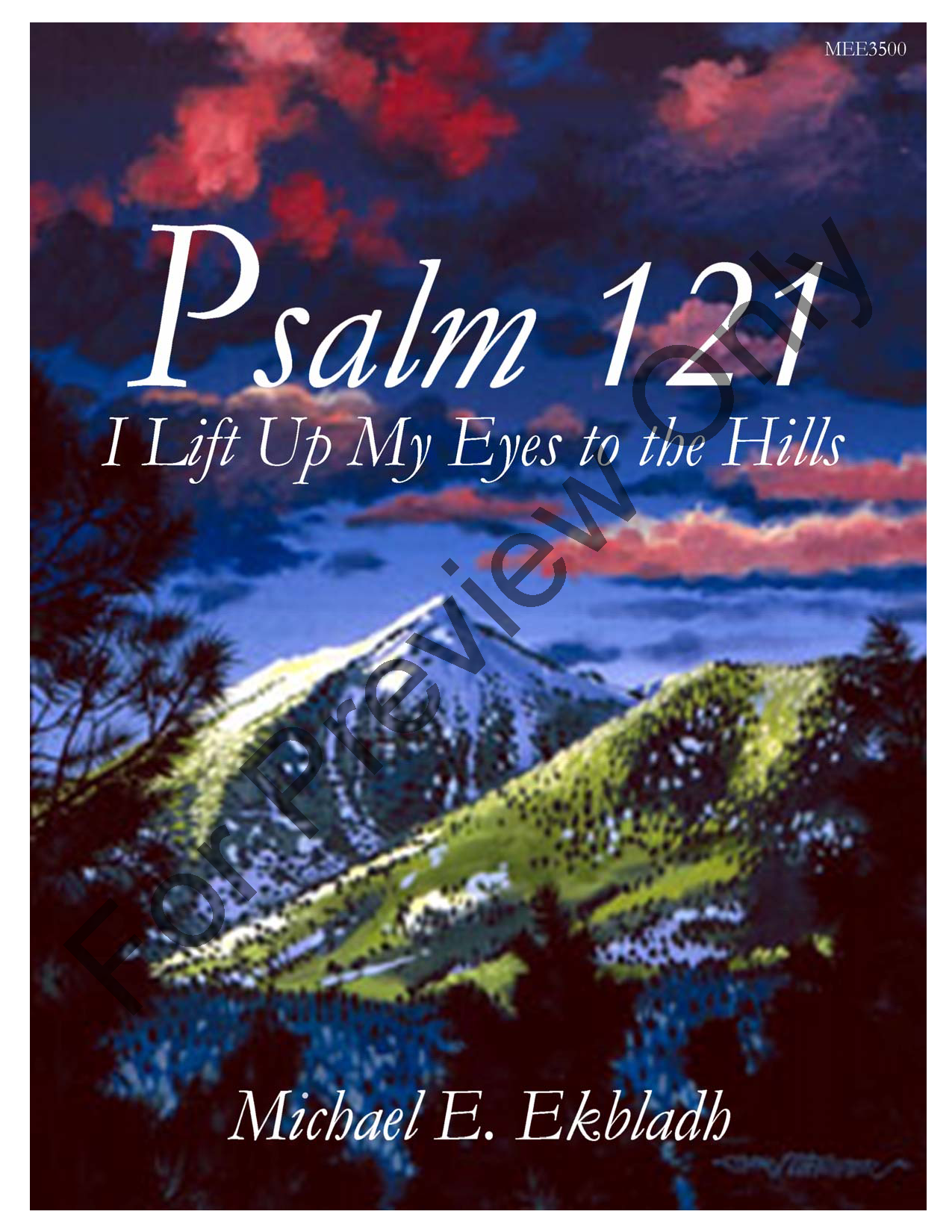 Psalm 121 (I Lift Up My Eyes to the Hills) Thumbnail