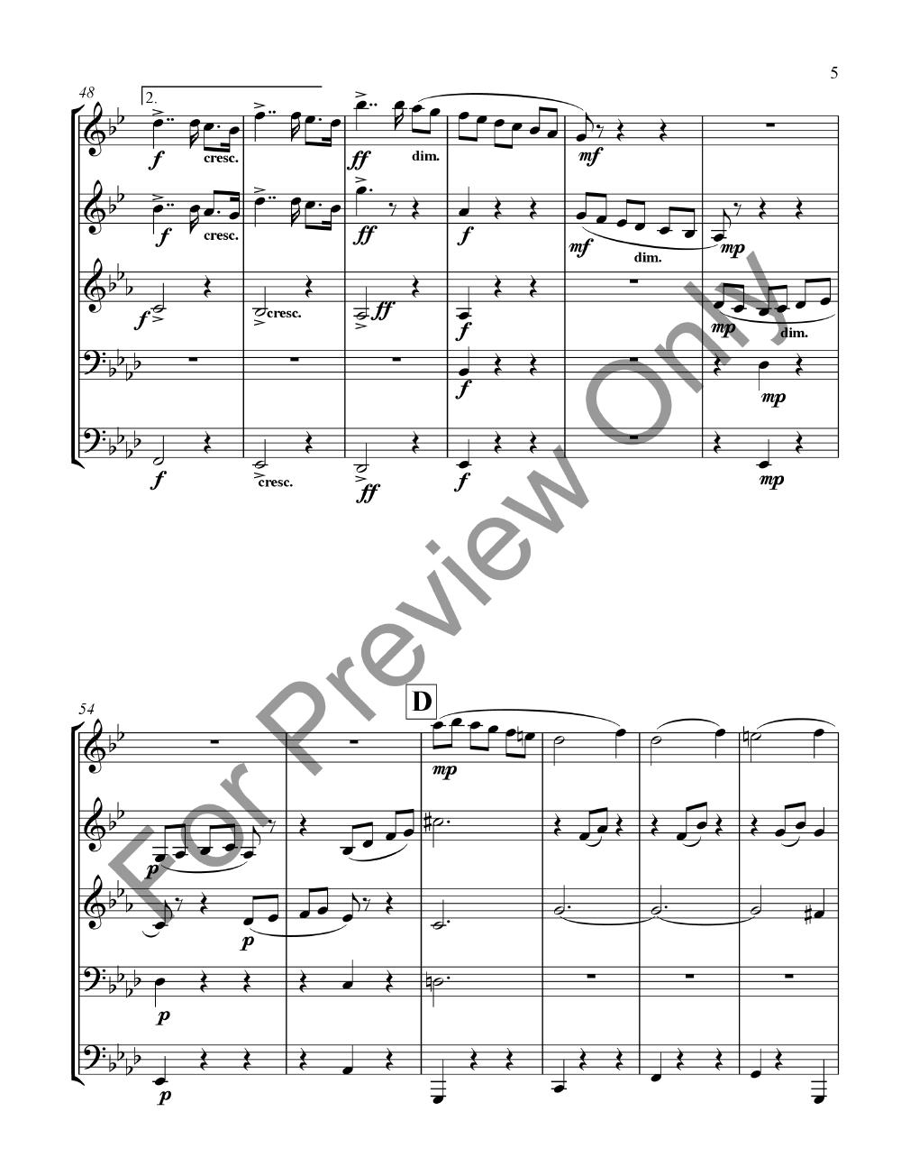 Serenade for Strings Movement 2 Thumbnail