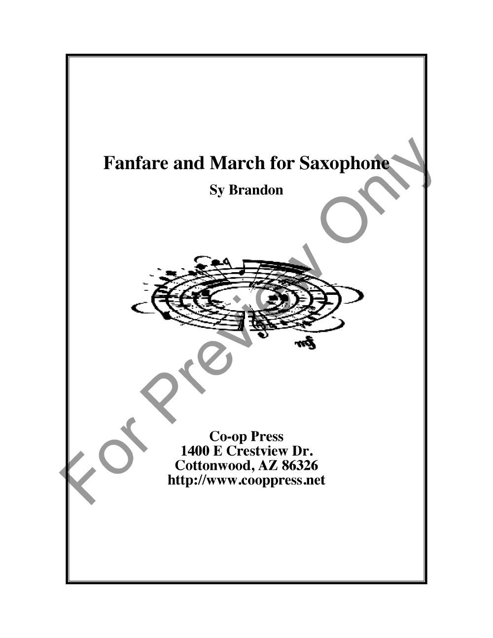 Fanfare and March Thumbnail