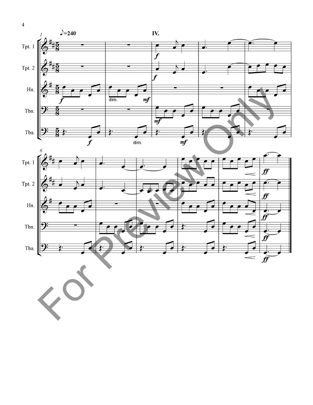 Glimmerglass Fanfares Thumbnail
