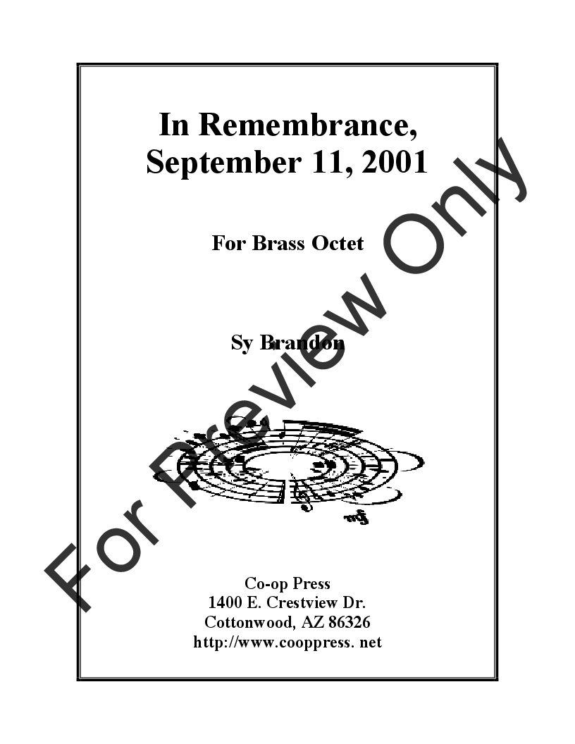 In Remembrance, Sept. 11, 2001 Thumbnail