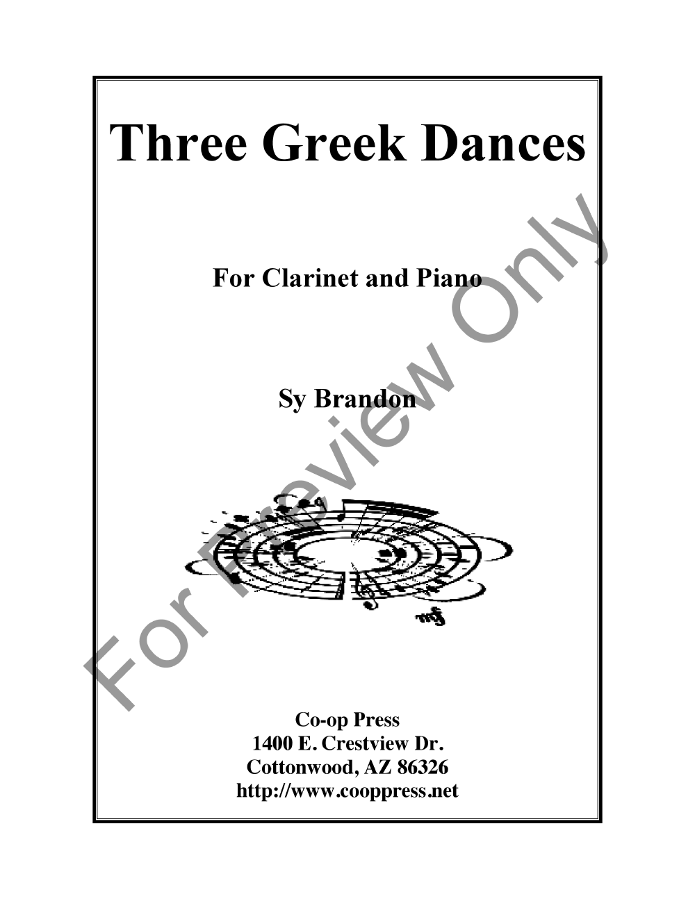 Three Greek Dances Thumbnail