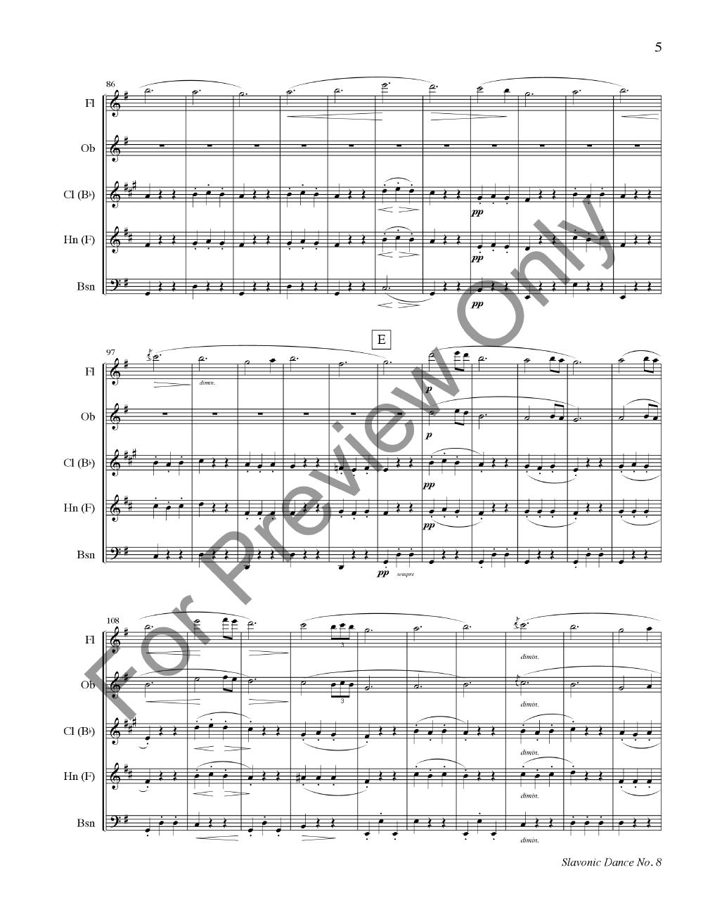 Dvorak: Slavonic Dance No. 8 Thumbnail