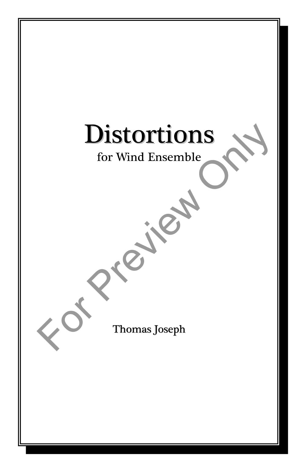 Distortions Thumbnail