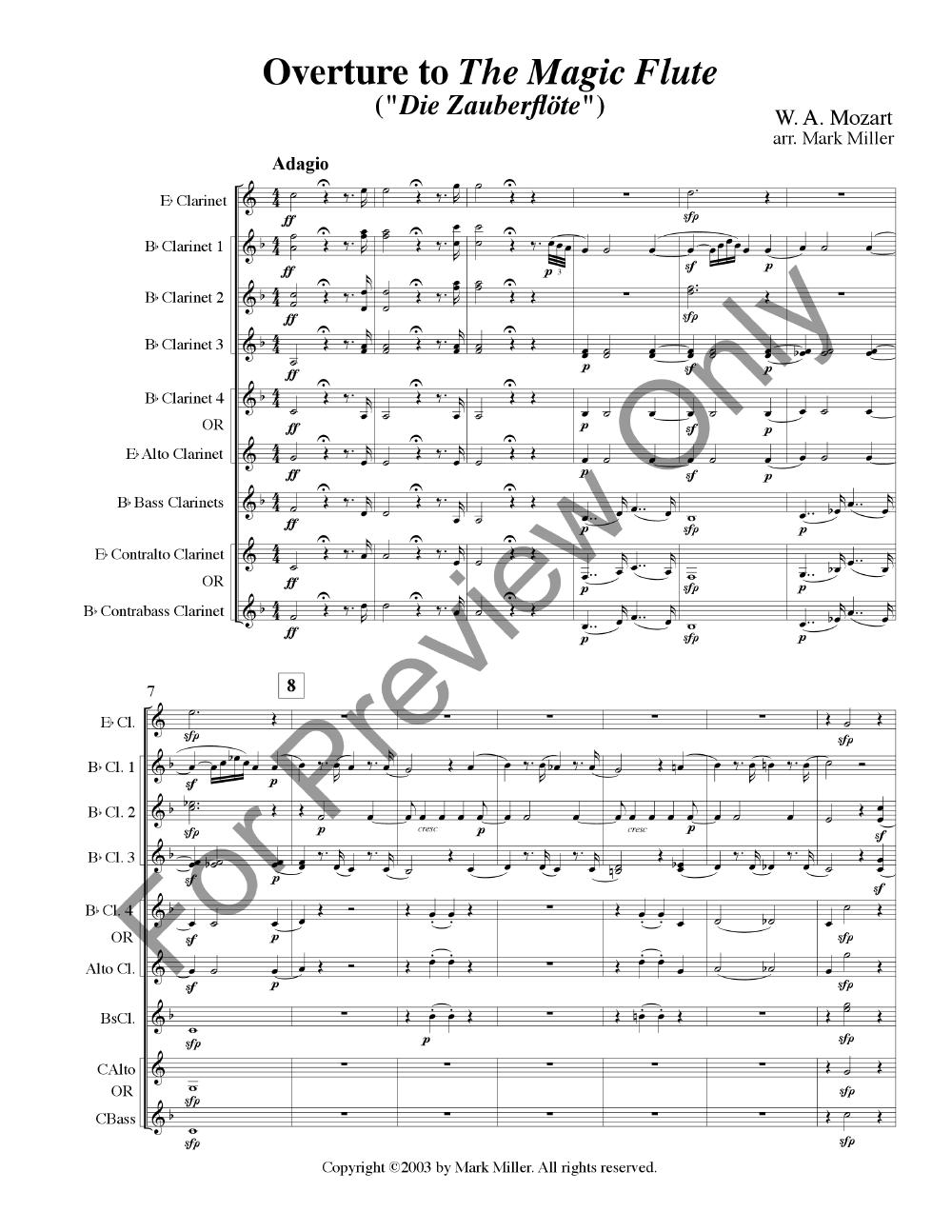 Magic Flute Overture Thumbnail