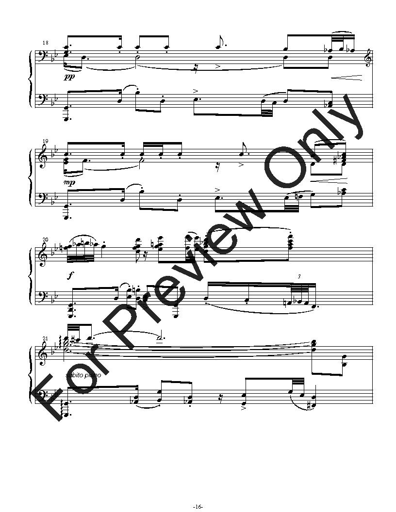 Five Preludes for Solo Piano Thumbnail