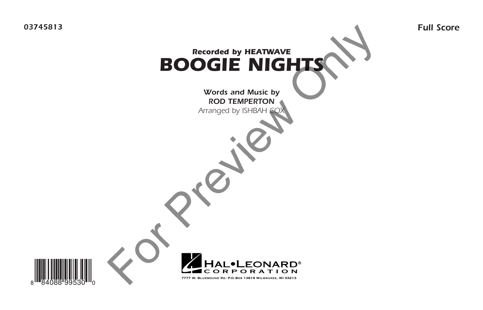 Boogie Nights Thumbnail