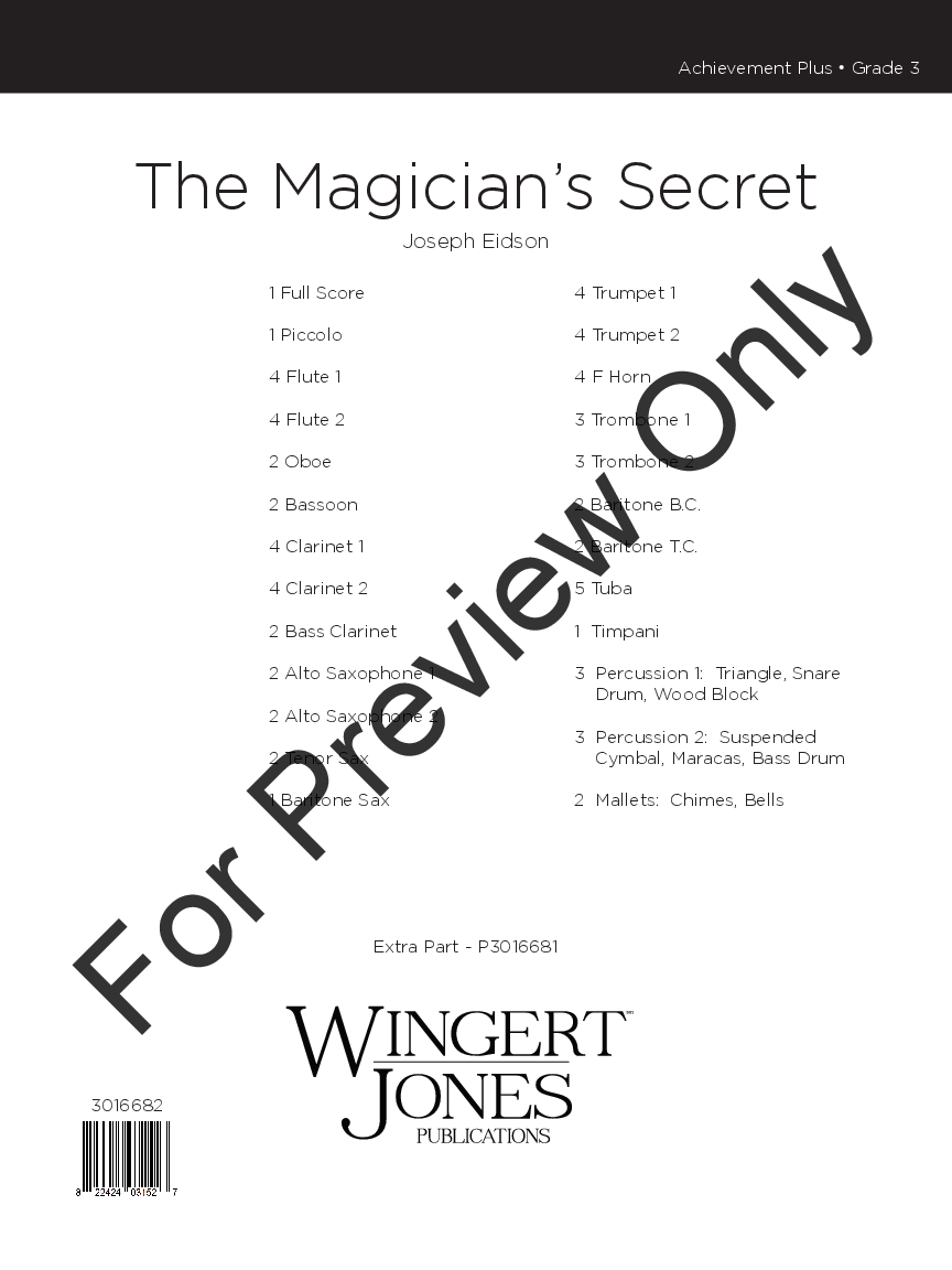 The Magician's Secret Thumbnail
