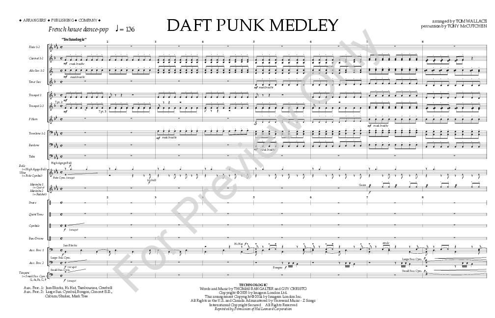 Daft Punk Medley Thumbnail