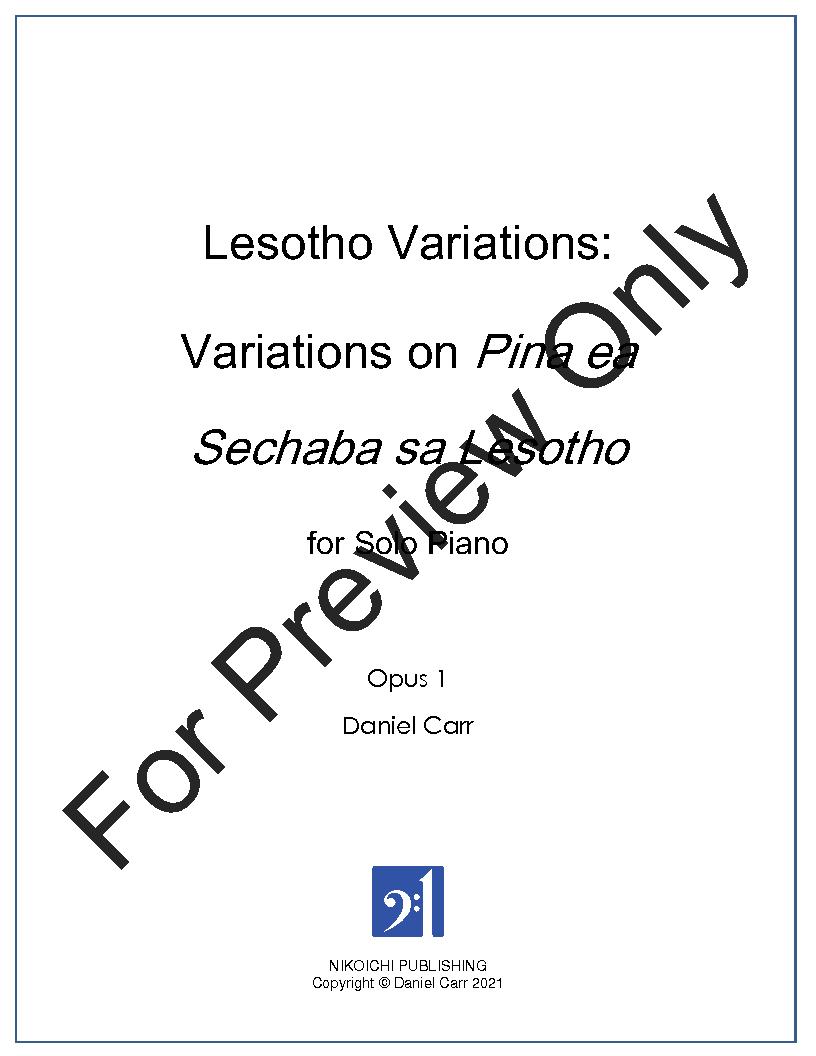 Lesotho Variations Thumbnail